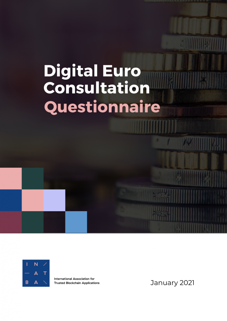 Cover for report on digital euro